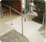 玄関・外構の介護リフォーム 写真2